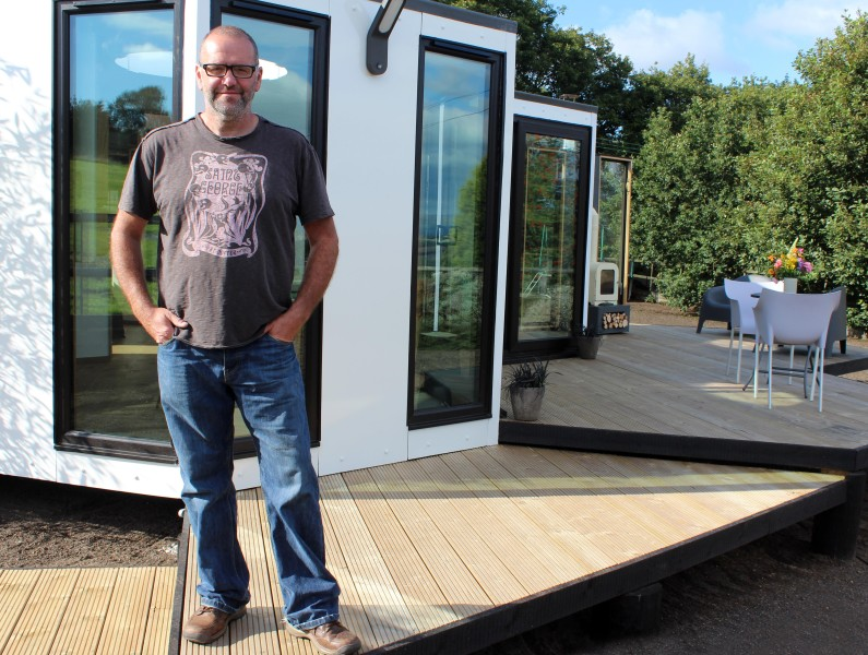 Barry Jackson, Hivehaus as seen on Channel 4's Amazing Spaces